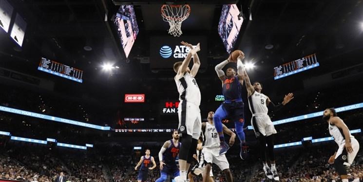 پلی آف لیگ NBA؛ شکست خانگی وریرز